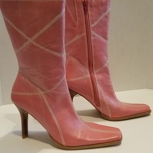 Shoes - Candy Pink boots by BR, NEW